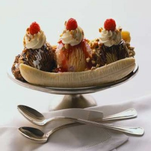 morning after ironman  -banana split