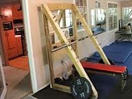Homemade squat rack for Homemade safety squat bar