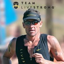 Lance Armstrong In Livestrong Gear Jpg