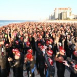 the ironman triathlon is this your year? ironman swim start
