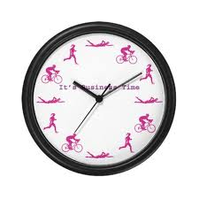 Ironman Triathlon average time  -a triathlon clock