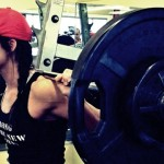 Squat weight training for triathletes-female-squat