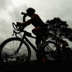 Ironman Triathlon bike nutrition tips - ironman triathlete bike course drink
