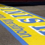 Boston Marathon results 2014- finish  line image