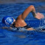IronStruck.com- woman-triathlete-swim-training