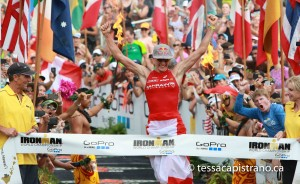 Ironman Hawaii Championship results 2015